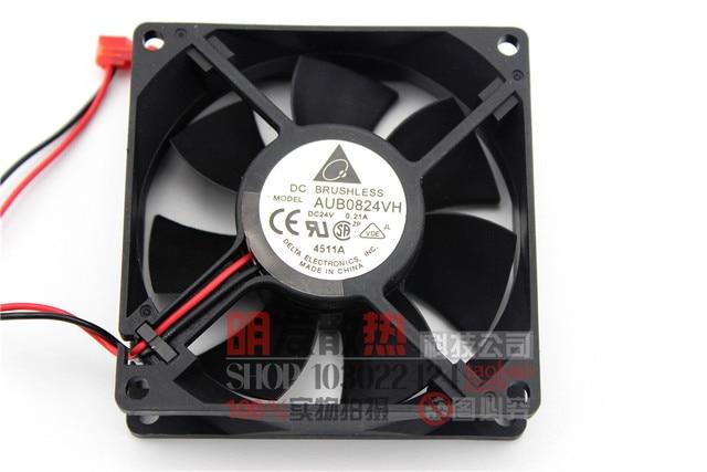 Original 8025 0.21A 0824VH 8 CM 2 hilos 24 V cm convertidor de frecuencia del ventilador de refrigeración