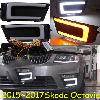 LED,2015~2018 Octavia daytime Light,Octavia fog light,Octavia headlight,Fabia,octavia,superb,rapid,yeti,Octavia taillight фото