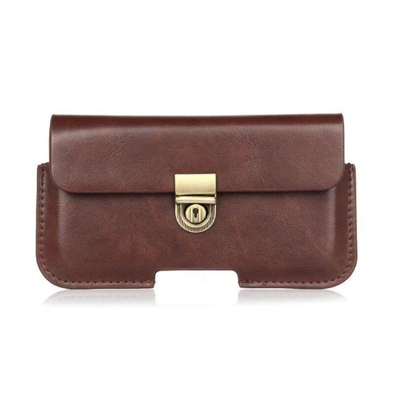 PU Leather Belt Clip Pouch Cover Case for Oukitel U7 Max U13 U15S U15 Pro U7