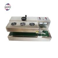 Folha de Alumínio de Indução Eletromagnética Máquina de Selagem contínua  PEAD/frasco plástico/frasco de indução aferidor de calor machine cappuccino machine sealer machine switch -