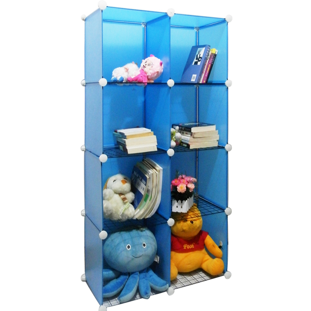 Transparent Bookshelf Child Bookcase Shugui Storage Cabinet Finishing Tool Shelf