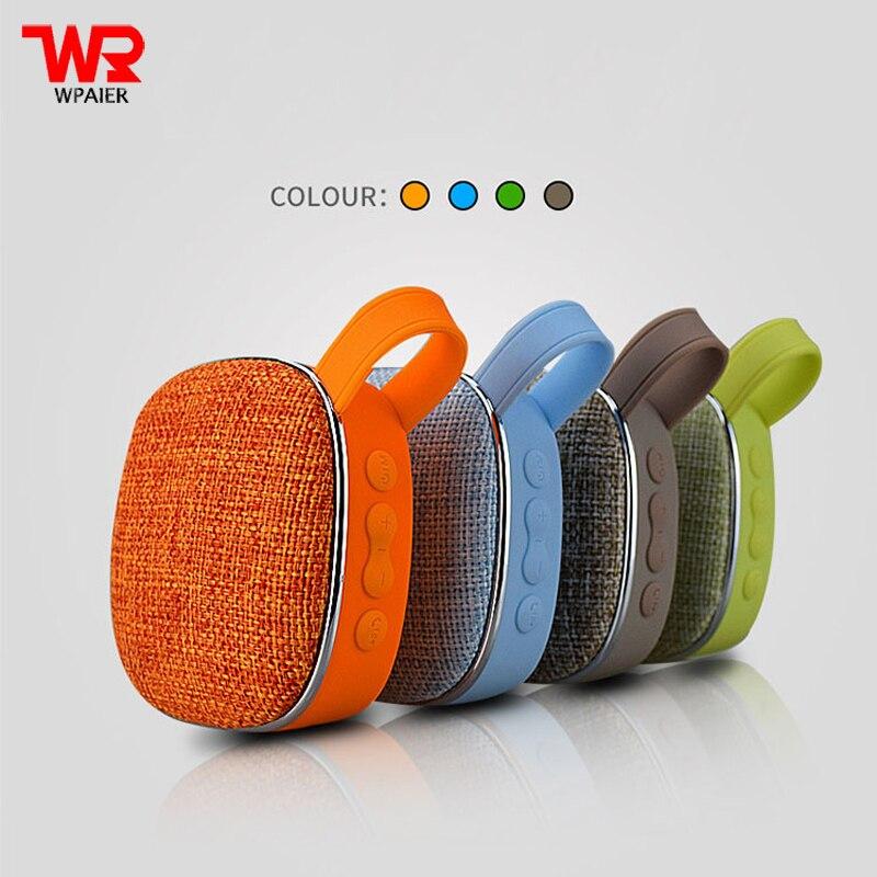 WPAIER X25 Fabric art Wireless Bluetooth Speaker waterproof