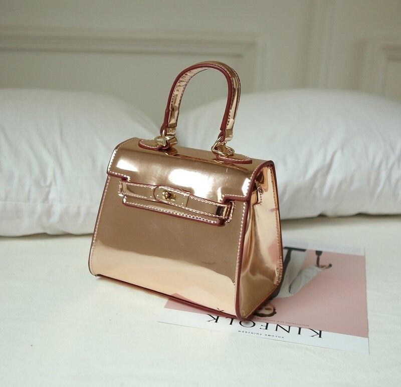 nuevos bolsos de las mujeres de la jalea del espejo del bolso mini bolso bolsa