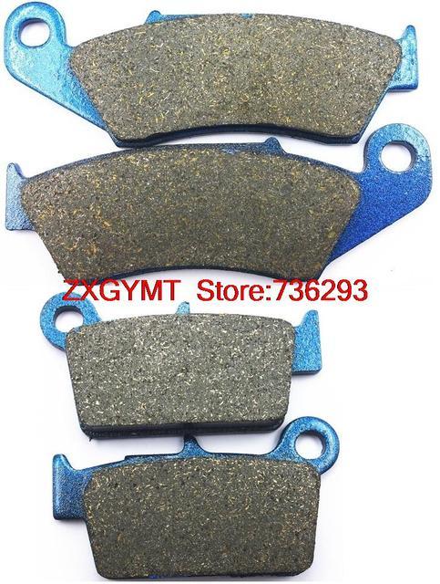 Off-road pastilhas de freio a disco de carbono set fit para a yamaha yz450 yz 450 f 2003-2007