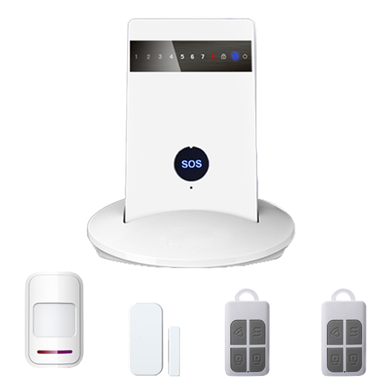 2017 new Free shipping GSM+PSTN dual network home burglar gsm alarm system G15 golden security wireless wired 433 mhz dual network gsm pstn alarm system home burglar security alarm system free shipping
