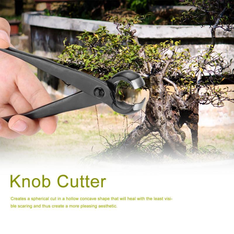 210mm jardin Knob Cutter Branch Bonsai Outils Concave Cutter Rond Edge Cutter