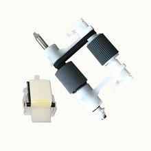 купить vilaxh Q5997-67901 ADF Pickup Roller + Q5997A Separation Pad For HP Color LaserJet 4700 4730 9200c 9250c 9200 9250 4345 M4345 дешево