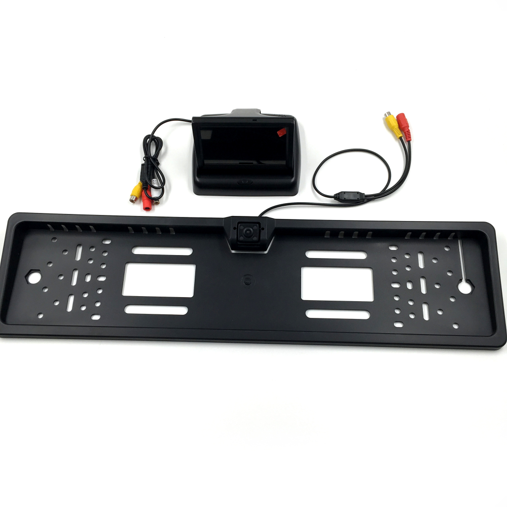 Neue 4,3 zoll Faltbare Digital TFT LCD Monitor + Europäischen auto ...