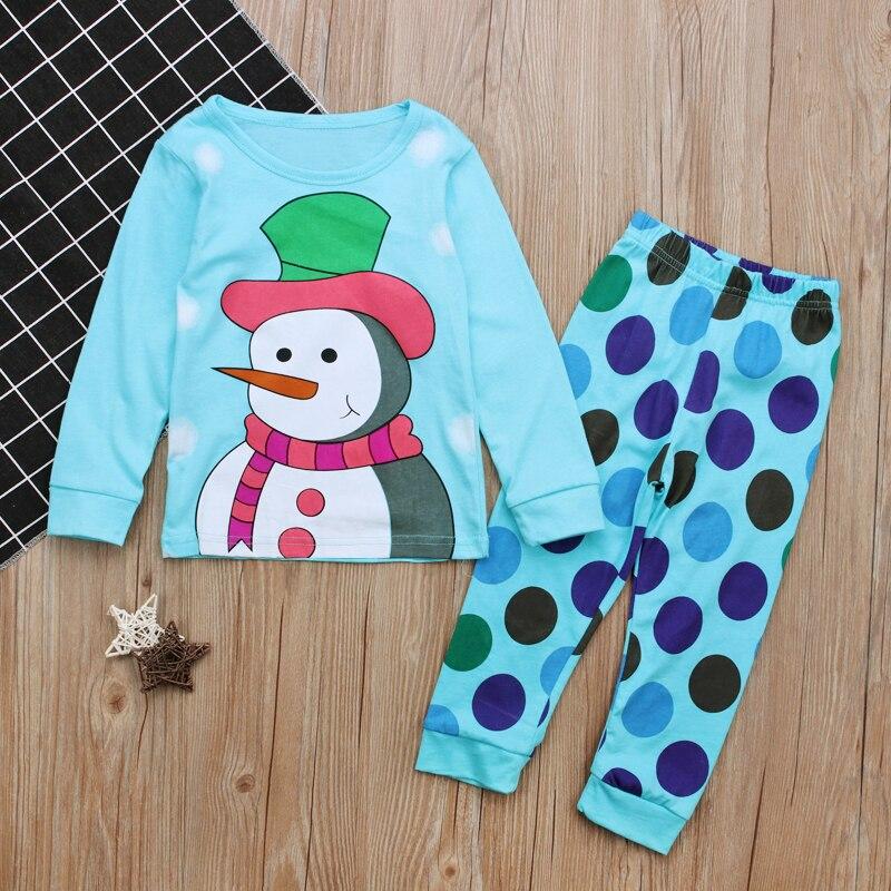 Kids Spring Autumn Pajamas Children Clothing Boys Girls