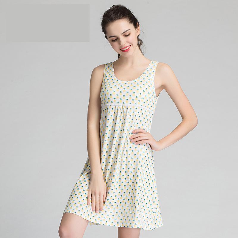 Nightgowns Sleepshirts Nightgown Women Sleepwear Sleepwear Cotton ...