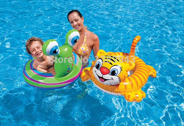 INTEX Creative Tiger Inflatable Pool Accessories Kids Swimming ...