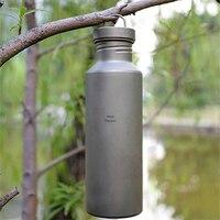Кит Горячая продажа 700 мл титана моя бутылка с мешком шейкер для Протеиновой бутылки воды Открытый Кемпинг Спорт велосипед бутылка воды Ti32