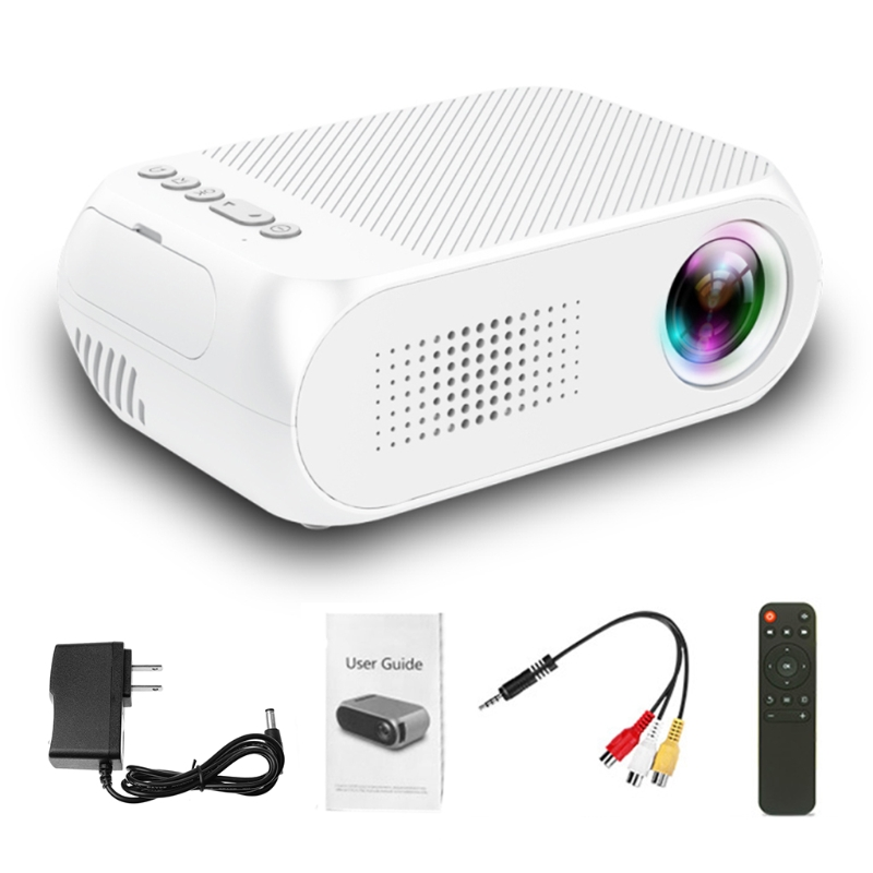все цены на Video Conference System HD 1080P LED Home Multimedia Theater Cinema Mini Projector Portable Video Movie US Plug