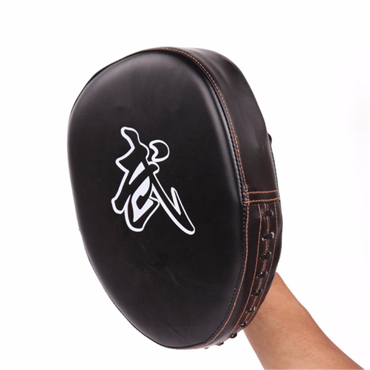Black gloves at target - 1pcs Sports Boxing Gloves Pads For Muay Thai Kick Boxing Mitt Mma Training Pu Foam Boxer