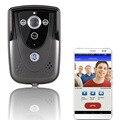 2015 Hot HD 720P Wifi Doorbell Camera Wireless Video Intercom Phone Control IP Door Phone Wireless Door bell IOS Android