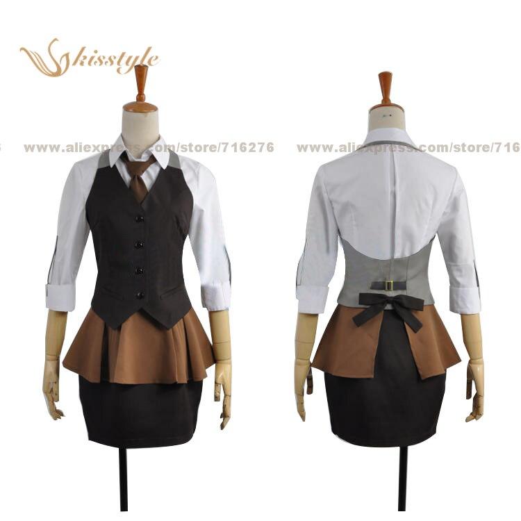 все цены на Kisstyle Fashion Tokyo Ghoul Toka Kirishima Working Uniform Cosplay Clothing Cos Costume,Customized Accepted