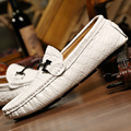 New Arrival Men Loafers Casual Shoes British Fashion Men's Shoes Moccasins Genuine Leather Loafers Handmade Men Flats Shoes 2A