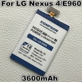 3600mAh BL-T5 Li-ion batteries For LG Google Nexus 4 Battery E960 E975 E973 E970 F180 BL T5