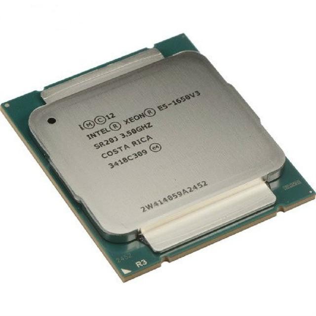 Intel Xeon E5 1650 V3 SR20J 3.5GHz 6 ליבה 15Mb Cache Socket LGA 2011 3 מעבד מעבד