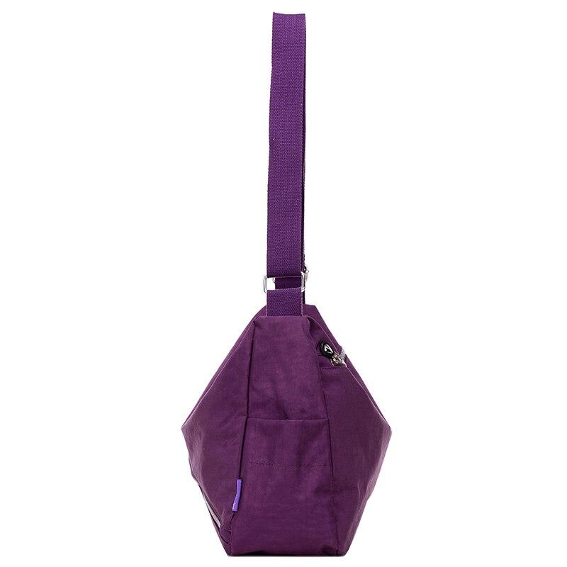Luxury Women Messenger Bag Nylon Shoulder Bag Ladies Bolsa Feminina Waterproof Travel Bag Women 39 s Crossbody Bag in Shoulder Bags from Luggage amp Bags