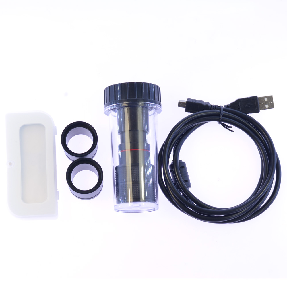 5MP HD USB2 0 CCD Free Driving Electronic Camera Microscope C Mount Digital Eyepiece with Micrometer