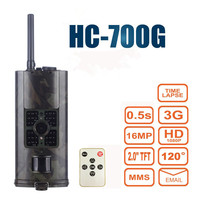 HC700G 16MP Trail Hunting Camera 3G GPRS MMS SMTP SMS 1080P Night Vision 940nm Scouting Cameras