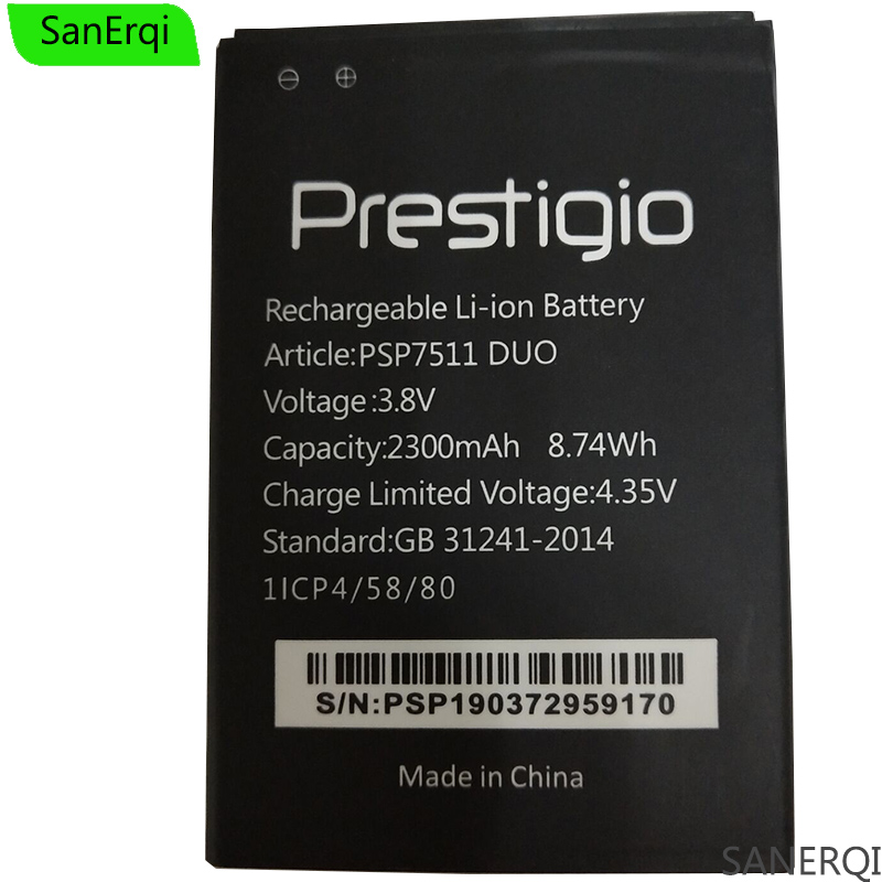 Battery PSP7511 2300mah For Prestigio Muze B7 Duo/Battery/2300mah/..