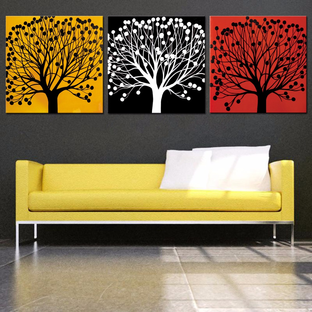 3 Pieces Set High Definition Canvas Prints Wall Decor Pictures for ...
