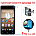 never broken Nano Explosion-proof Soft Glass Clear Screen Protector Protective Lcd Film For Highscreen Power Four 4