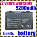 JIGU k50in Laptop Battery For Asus K50AB K70 A32-F52 F82 K50I K60IJ K61IC free shipping A32-F52 L0690L6 L0A2016 k50ij