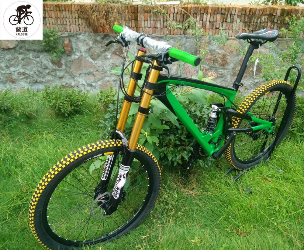 kalosse hydraulische bremsen downhill fahrrad 165mm reise 24 27 30 geschwindigkeit mountainbike. Black Bedroom Furniture Sets. Home Design Ideas