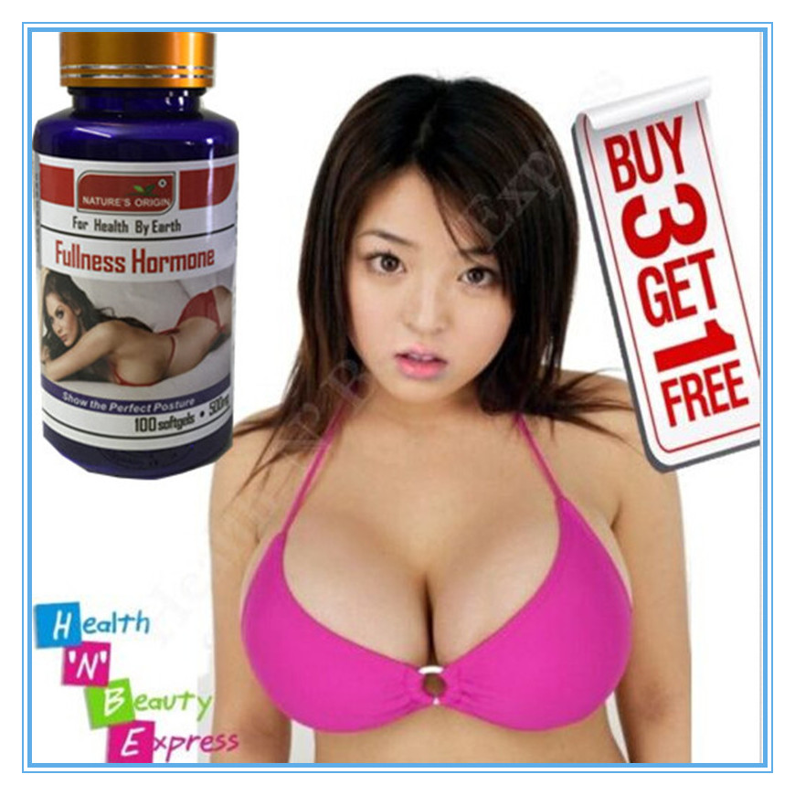 (Buy 3 Get 1 Free) Natural Breast Enlargement Pill USA Traditional 100% NATURAL Pueraria Mirifica Capsules