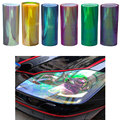 120cm*30cm Shiny Chameleon Auto Car Styling headlights Taillights  film lights  Change Color Car film Stickers Car Accessories
