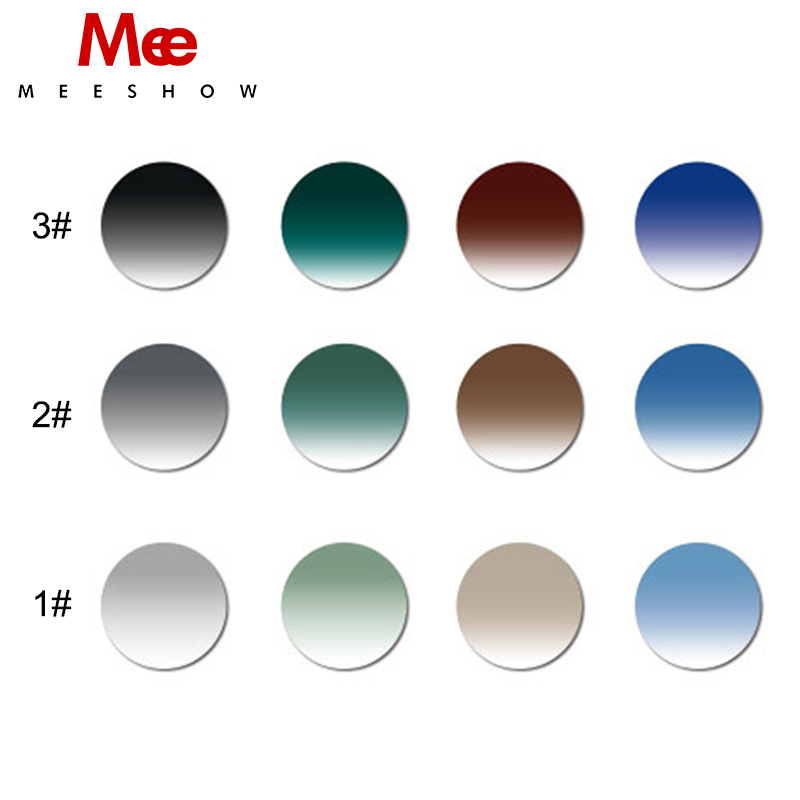 1.61 ASP Resin lenses Gradient Optical Lens UV400 Reflective Coating custom Eyeglass for Myopia Presbyopia or Reading
