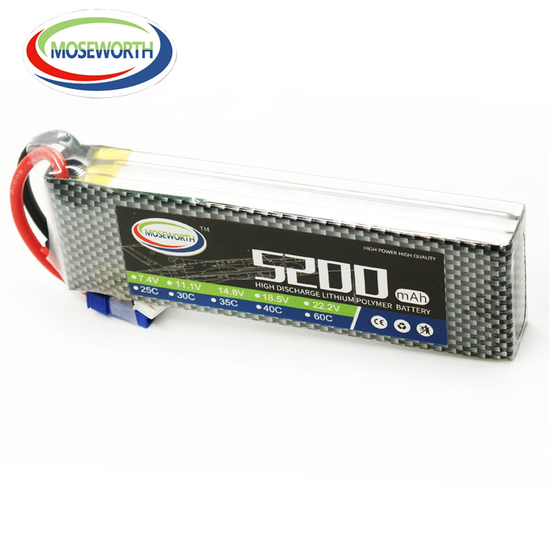 RC Lipo Battery 4S 14 8V 5200mAh 60C or 40C for RC model Aircraft RC font