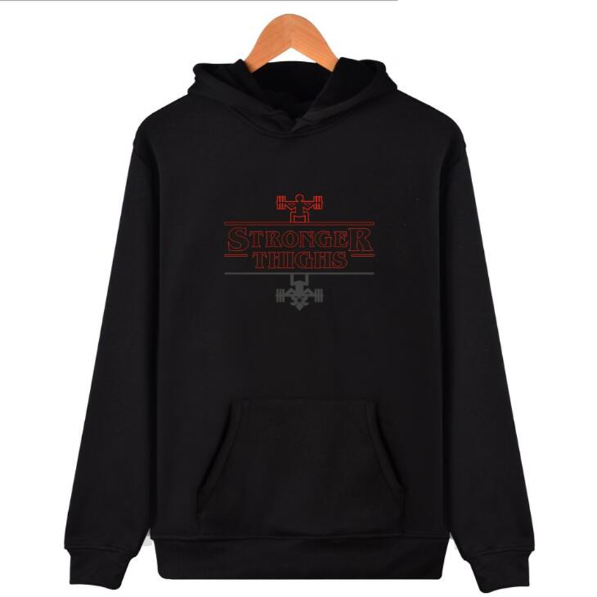 Classic Movie Stranger Things Hoodies Sweatshirts Men Women Winter Fashion Hip Hop Hooded Jackets Male brand Tracksuits Outwear
