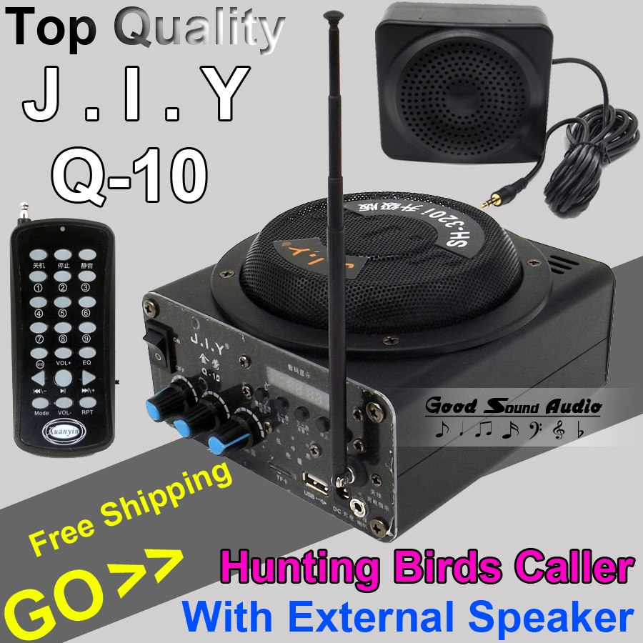 Outdoor Amplifier Hunting Bird Caller font b MP3 b font font b Player b font Decoy