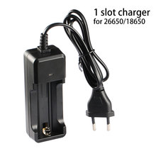 1*18650/26650 литий-ионная батарея зарядное устройство(ЕС