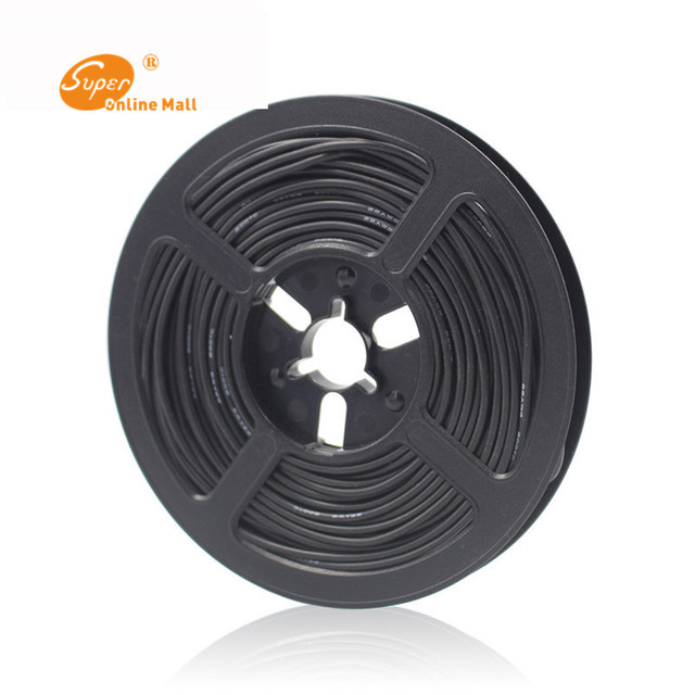 Fil de Silicone Flexible 100 M/lot 328ft 18 AWG câble RC diamètre extérieur 150/0.08TS fil conducteur 2.8mm pour le bricolage fil électrique