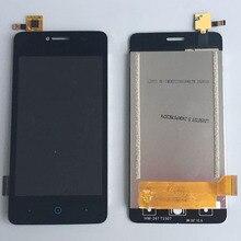 Черный ЖК-Дисплей С Сенсорным Экраном Digitizer Замена Тяга Для ZTE Blade A3 T220
