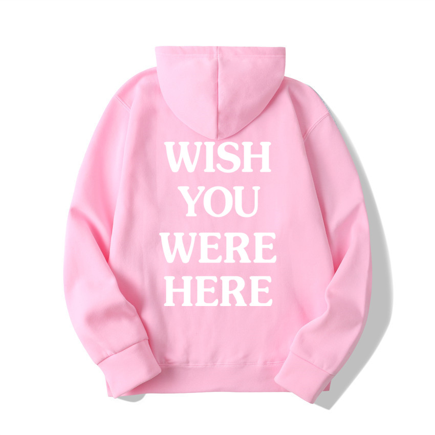 TRAVIS SCOTT ASTROWORLD WISH YOU WERE HERE HOODIES fashion letter ASTROWORLD HOODIE streetwear Man woman Pullover Sweatshirt 10