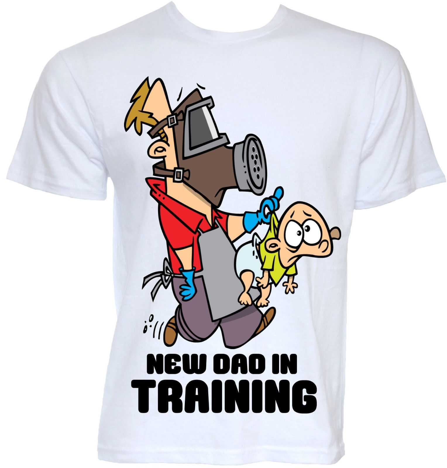 MENS FUNNY COOL NOVELTY NEW DADDY DAD T SHIRTS BABY SHOWER ...