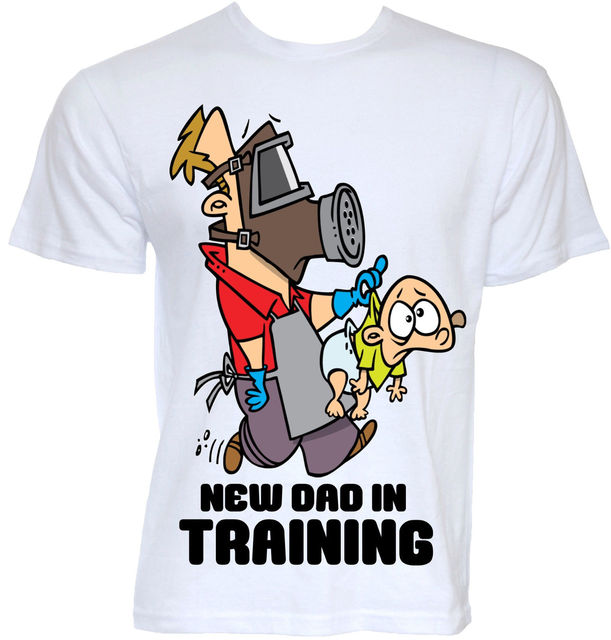 MENS FUNNY COOL NOVELTY NEW DADDY DAD T SHIRTS BABY SHOWER GIFTS PRESENTS  IDEAS New