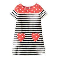 Girls Summer Dresses 2019 Robe Enfant Princess Dress Appliqued Kids Costume for Kids Clothing 100% Cotton Girls Jersey Clothes