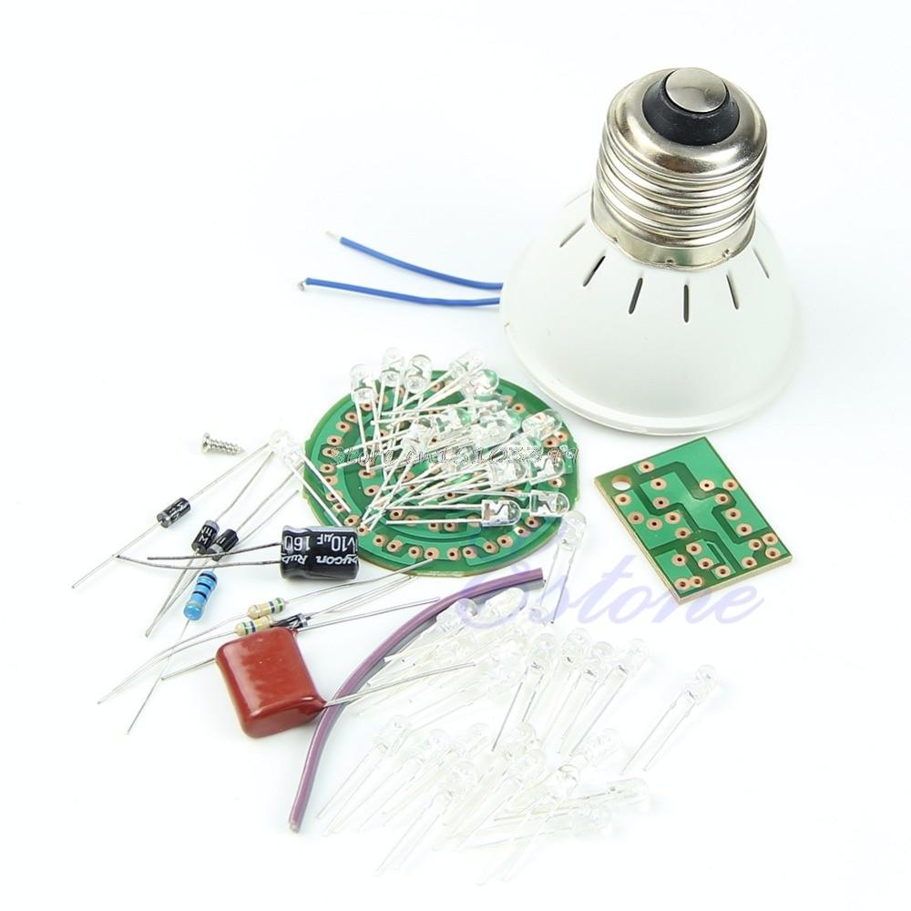1 Set Luminaria Energy-Saving 38 LEDs Lamps DIY Kits Electronic Suite Hot Abajur Para Quarto De Crianca G08 Drop ship