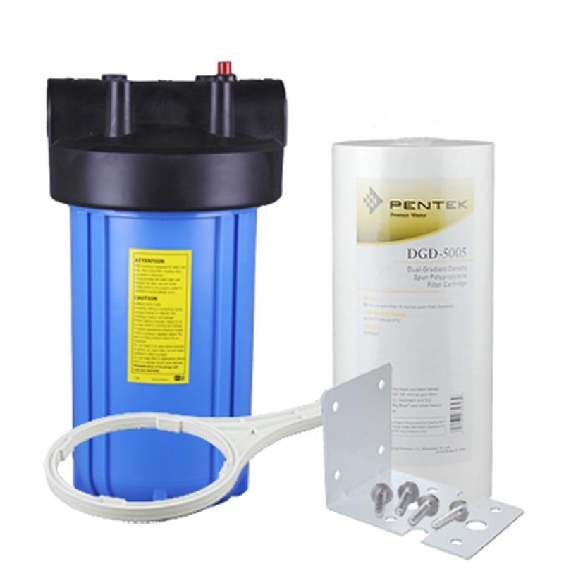 10 Heavy Duty Blue Sediment Prefilter Kits 50 micron to 5 micron for Water Filter and Water Purifier фильтр mybottle purifier blue splash 1018642