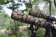 ROLANPRO kamuflaż płaszcz obiektyw odzież dla Nikkor firmy Nikon AF-S 500mm f 4G ED VR (I I II) deszcz osłona obiektywu rękaw ochronny cheap Lensx2 Lensx3 CN (pochodzenie) Sznurkiem Torby Wodoodporna Torba N019 cotton and rayon
