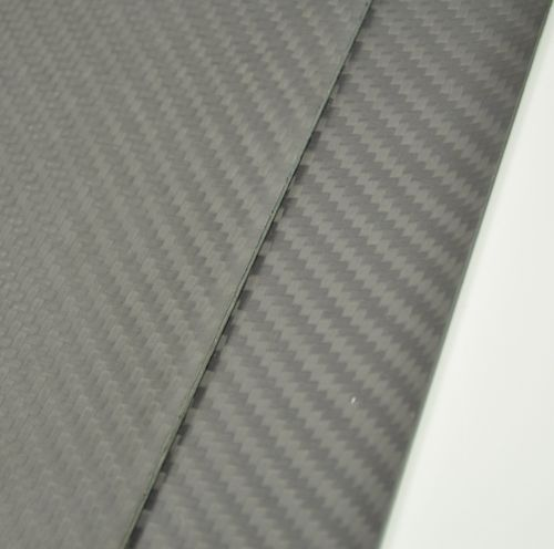100mmX500mmX1.6mm 100% Carbon Fiber plate panel sheet Matte Surface 1sheet matte surface 3k 100% carbon fiber plate sheet 2mm thickness
