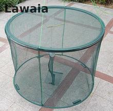 Lawaia shrimp cage Aquarium Trap Net Folding fishing Crab foldable trap cast net crab fish