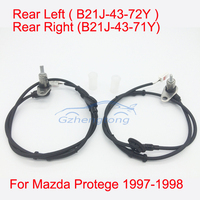 1 Set 2 Pcs ABS Wheel Speed Sensor Rear Right And Rear Left For Mazda Protege